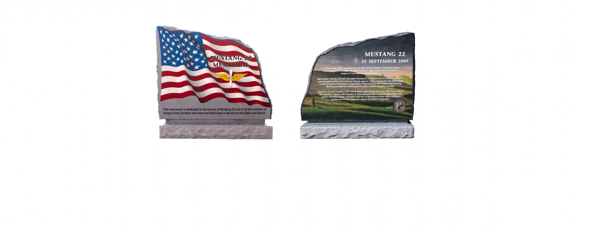 Images of Mustang 22 Memorials